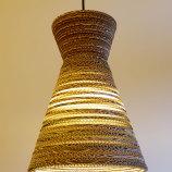 Kartonnen designlamp sisa light Luuxoo